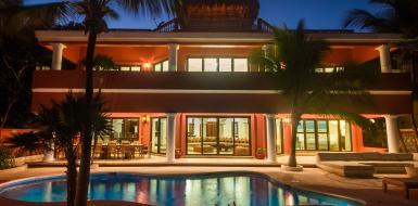 casa yardena oceanfront villa in tulum vacation rental holiday home