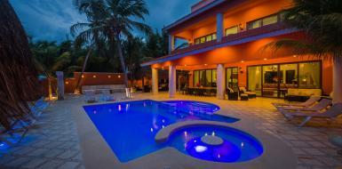 villa lol beh vacation rental oceanfront villa tulum mexico