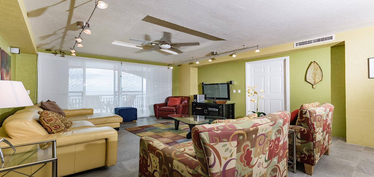 Lavishing Living Room at Vista Azul in El Cantil