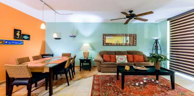 Residencias reef 8340 luxury vacation rental condo cozumel Mexico