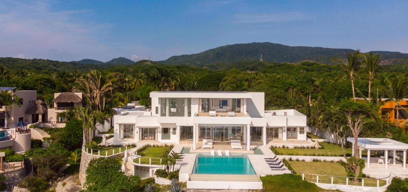 punta mita casa china blanca