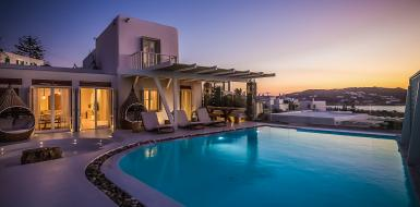 Luxury Vacation Rental Villa Kimothoe Mykonos Greece