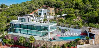 Villa Crystal Ibiza Oceanfront Rental