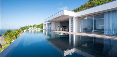 oceanfront st barts villas