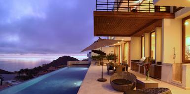 oceanfront Los Cabos villas