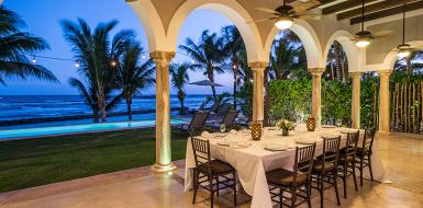 luxury villas in Puerto aventuras