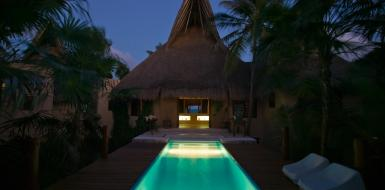 Villa Nalum Tulum Oceanfront Luxury Vacation rental home
