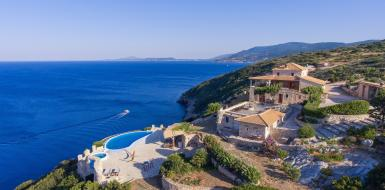 Zakinthos oceanfront rental Oceanview seaside Luxury retreat