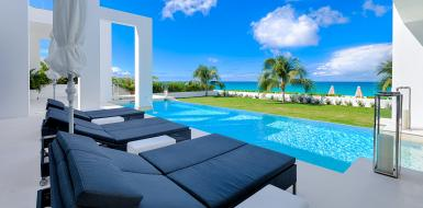 beach house Anguilla vacation rental oceanfront seaside holiday rental home