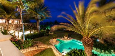 Indigo Villa Anguilla Vacation Rental Luxury Retreat Oceanfront rental home