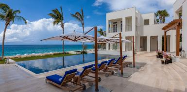 Villa Cerulean Luxury Oceanfront Vacation Rental In Anguilla holiday home
