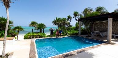 aquamarine tulum villa Soliman Bay