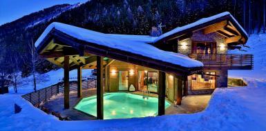 Luxury Chalet Alta Chamonix Mont Blanc