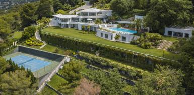 Luxury Mansion Julia Cannes Hills Rental