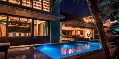 Tulum Villa Mum Beachfront Rental
