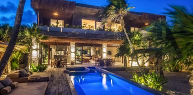 Tulum Villa Moloch Beachfront Vacation Rental