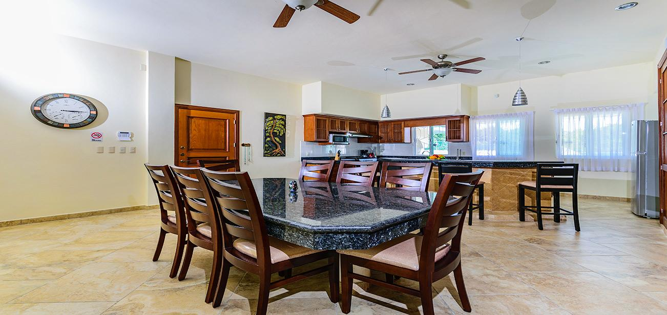 Super Sized Kitchen with Granite Counter Tops at Las Uvas Three Bedroom Unit 3