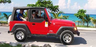 Jeep Excursion in Riviera Maya, Mexico