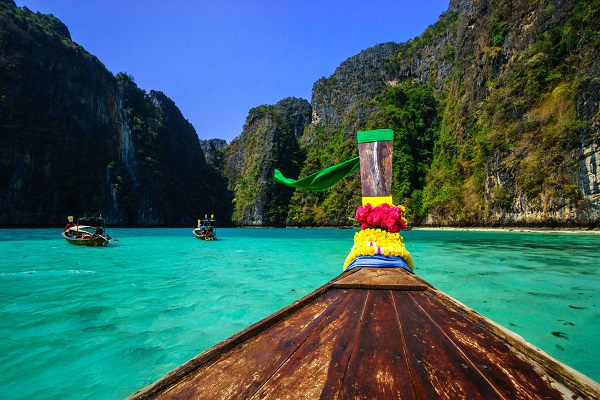 The Phi Phi archipelago is a must-visit while in Phuket Thailand