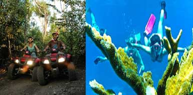 Enjoy ATV and Beach Adventure in Riviera Maya