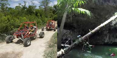 Explore Buggy Off Road Xrails to Jade Caverns of Mexico